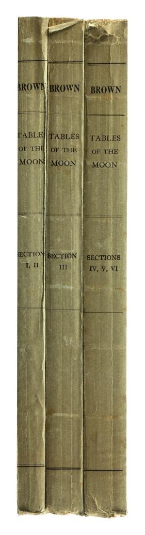 Ernest Brown's tables on lunar motion, 1919