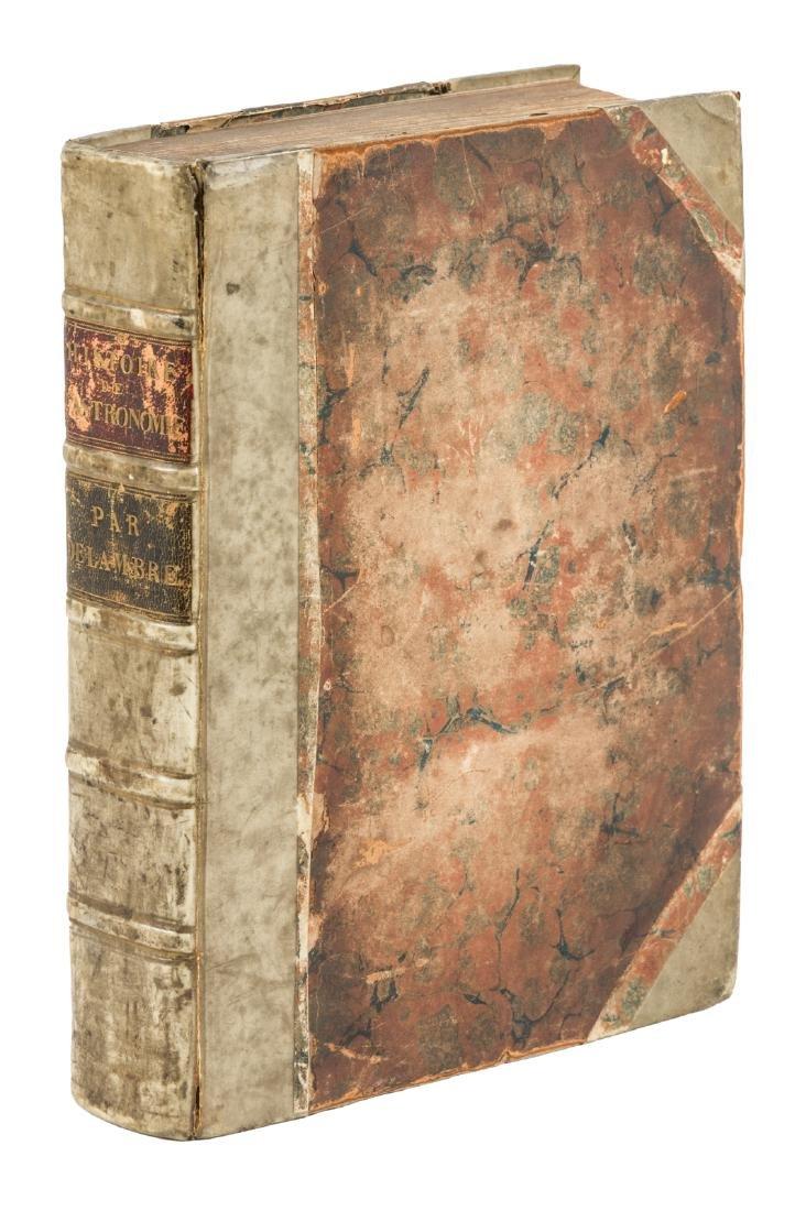 Delambre's history 18th century astronomy,