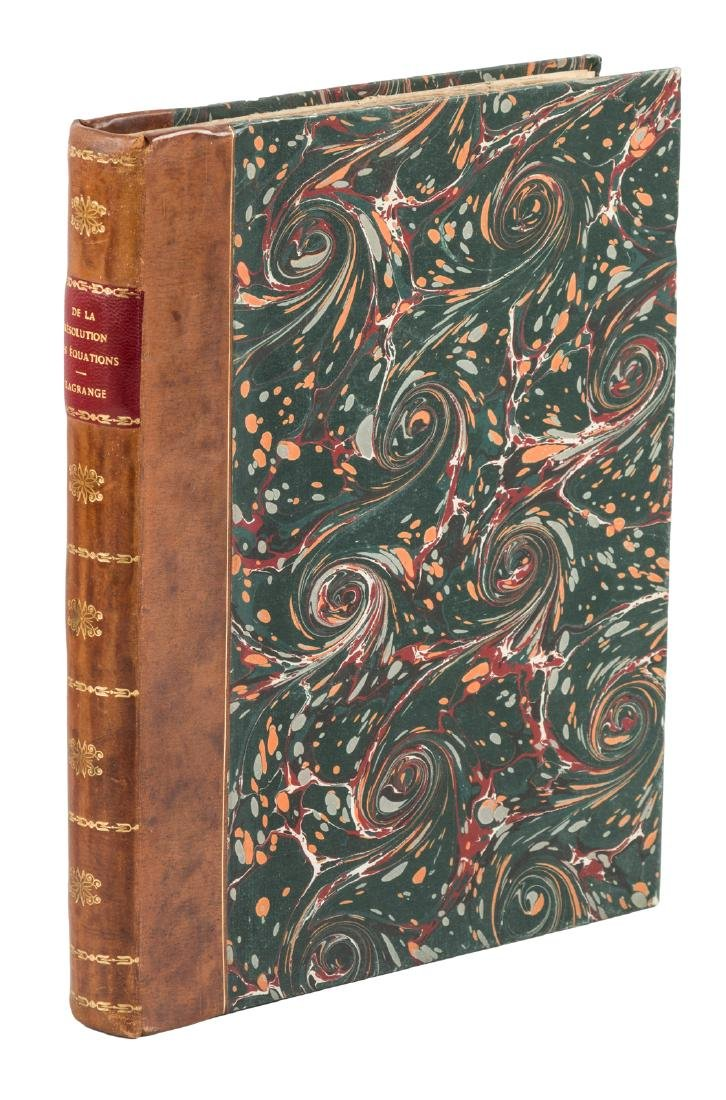 Lagrange calculates degrees, 1798