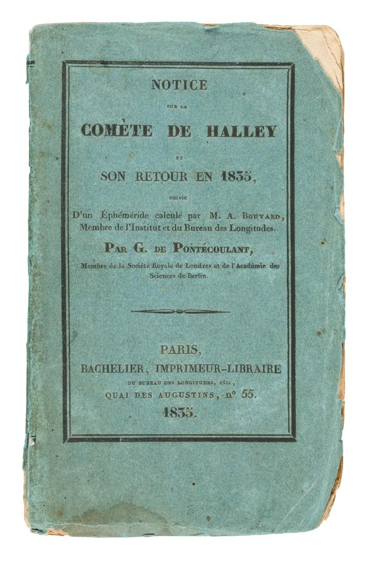 The return of Halley's Comet, 1835