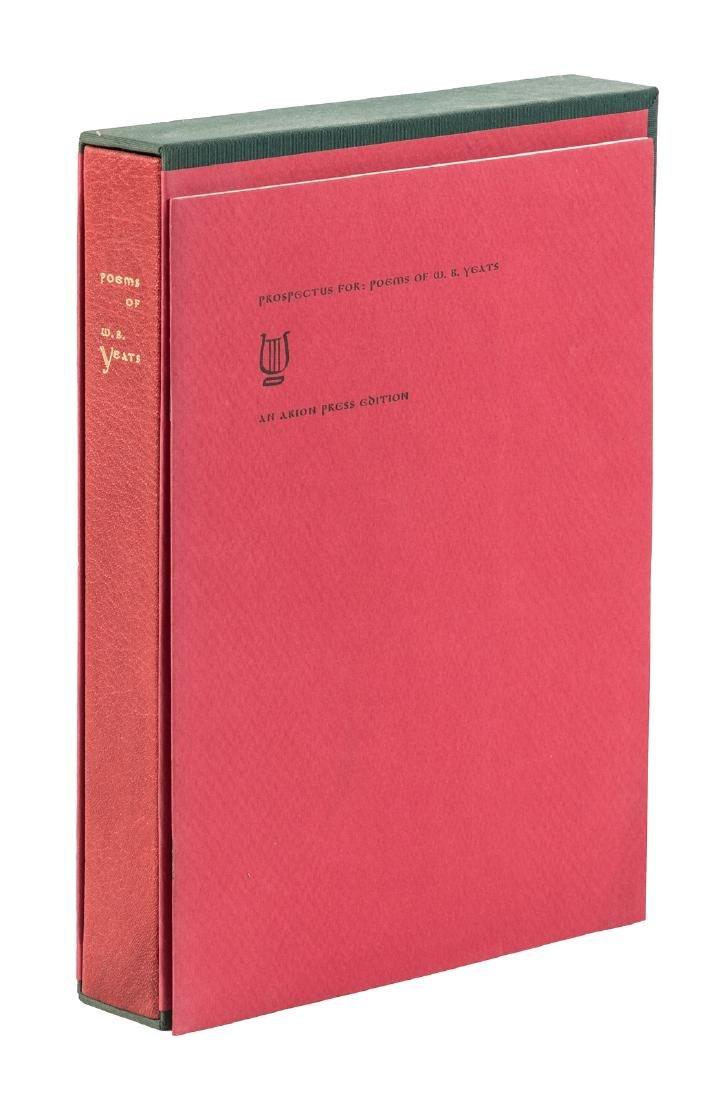 Arion Press Yeats' Poems Diebenkorn illustrations