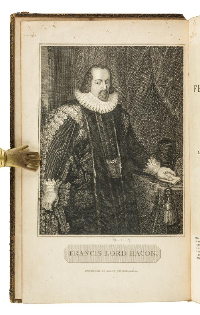 The Works of Francis Bacon in 10 volumes 1819 - 3