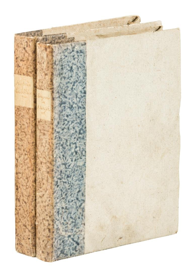 Two manuscript Catholic Church histories