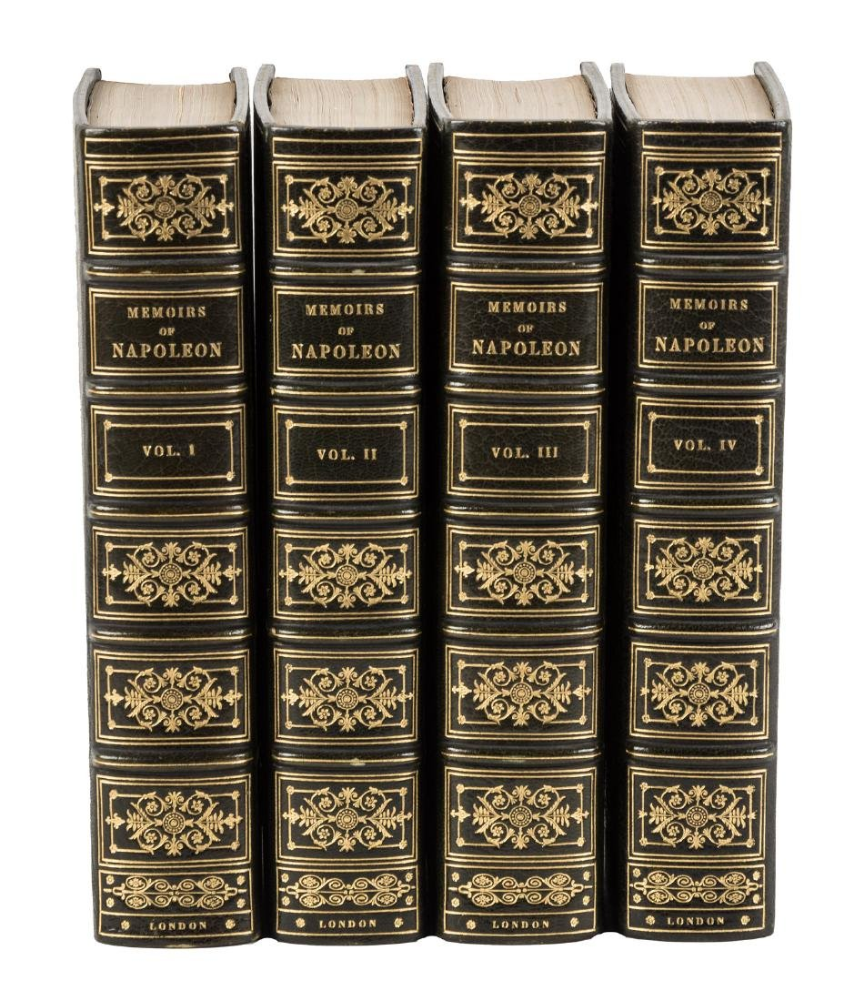 Memoirs of Napoleon, finely bound, 1/25