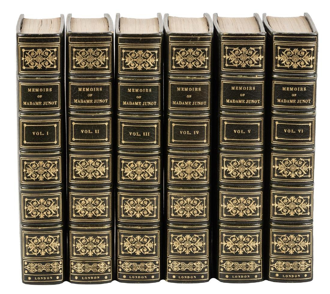 Madame Junot's Memoirs handsomely bound, 1/25