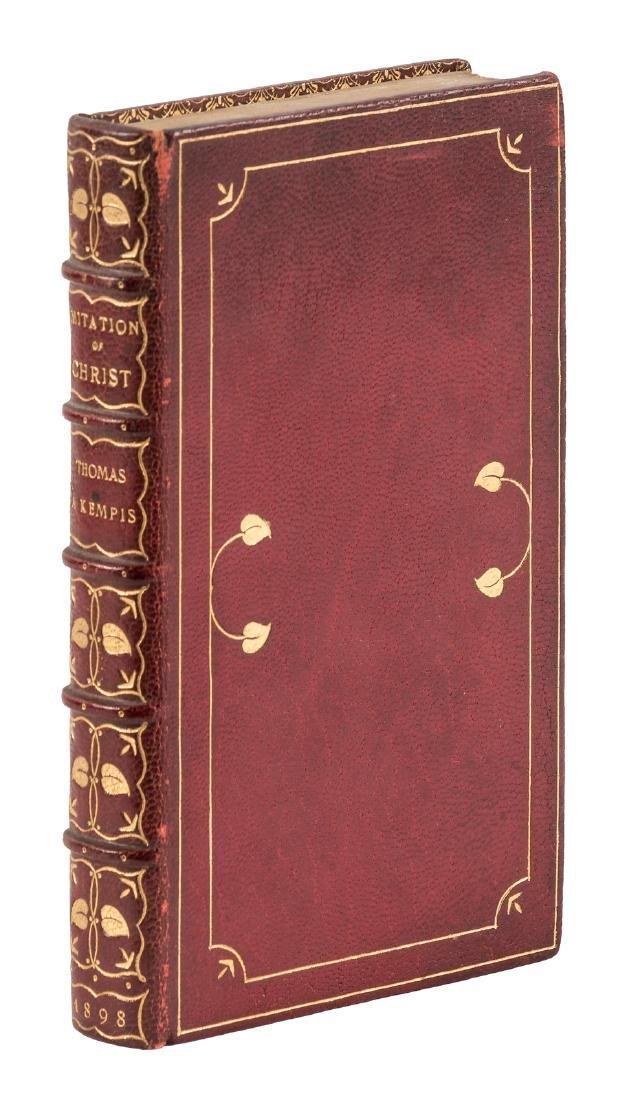 Imitation of Christ finely bound 1898