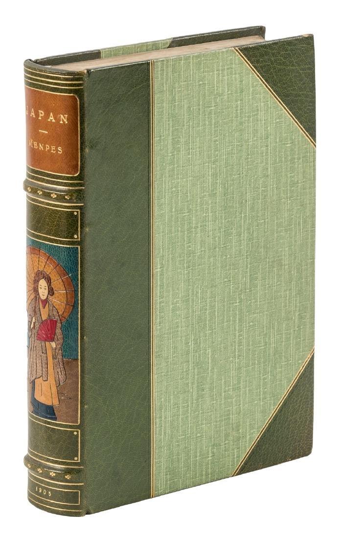 The Menpes' Japan in a beautiful inlaid binding