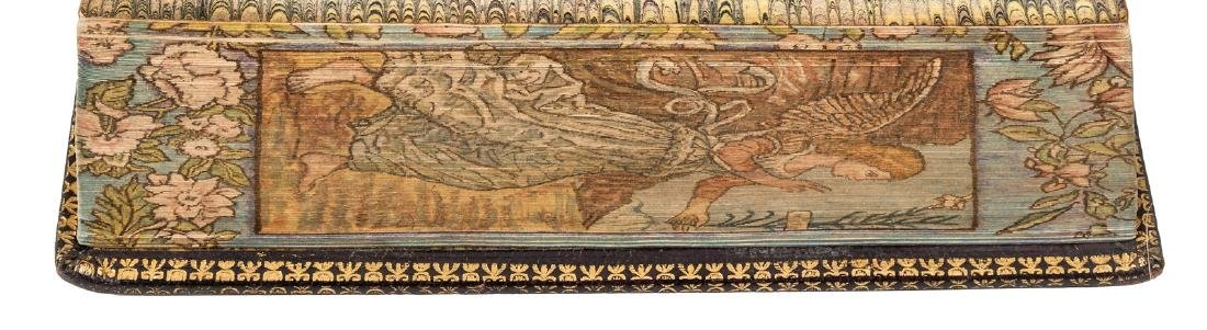 Vespers with an angelic fore edge painting
