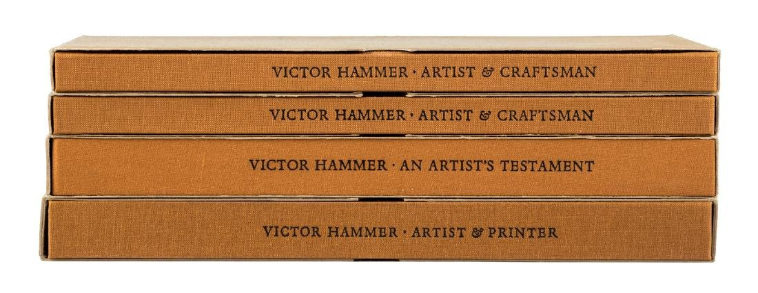 4 volumes on Victor Hammer