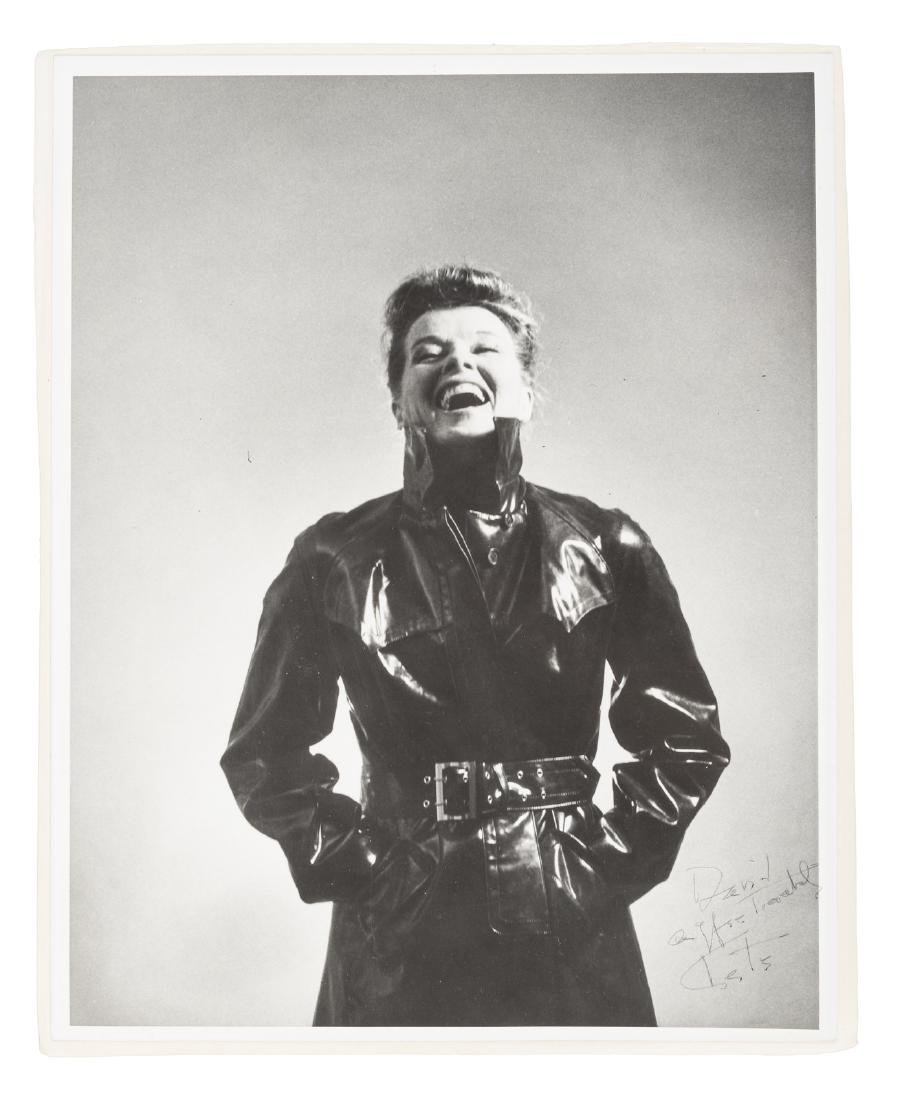 Original photograph inscribed by Katharine Hepburn