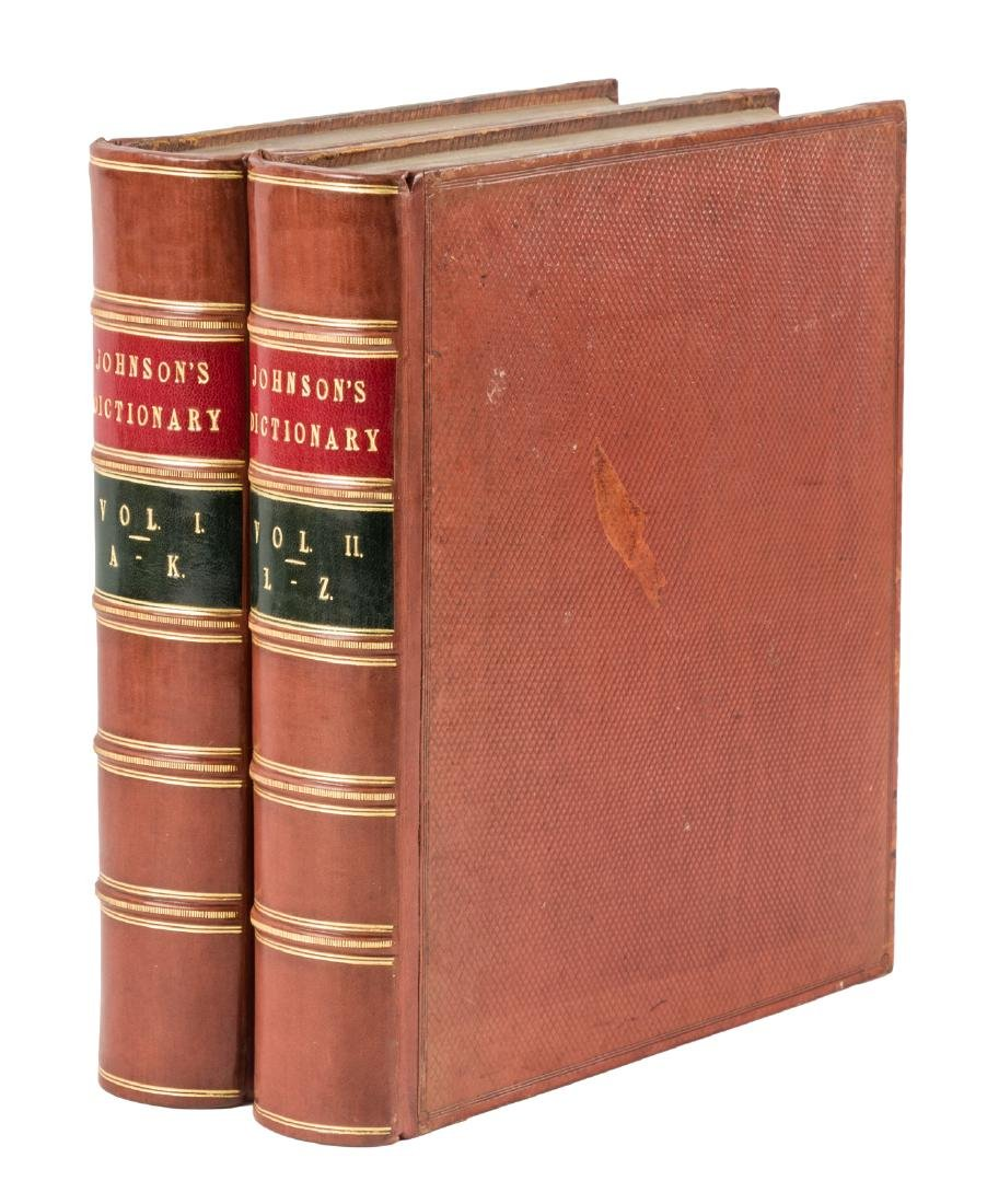 First authorized quarto edition Johnson's Dictionary