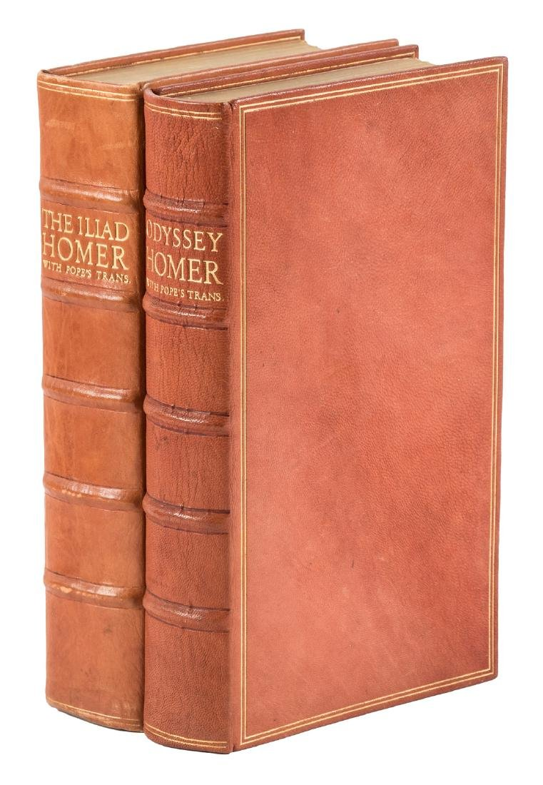 Nonesuch Press Illiad & Odyssey of Homer