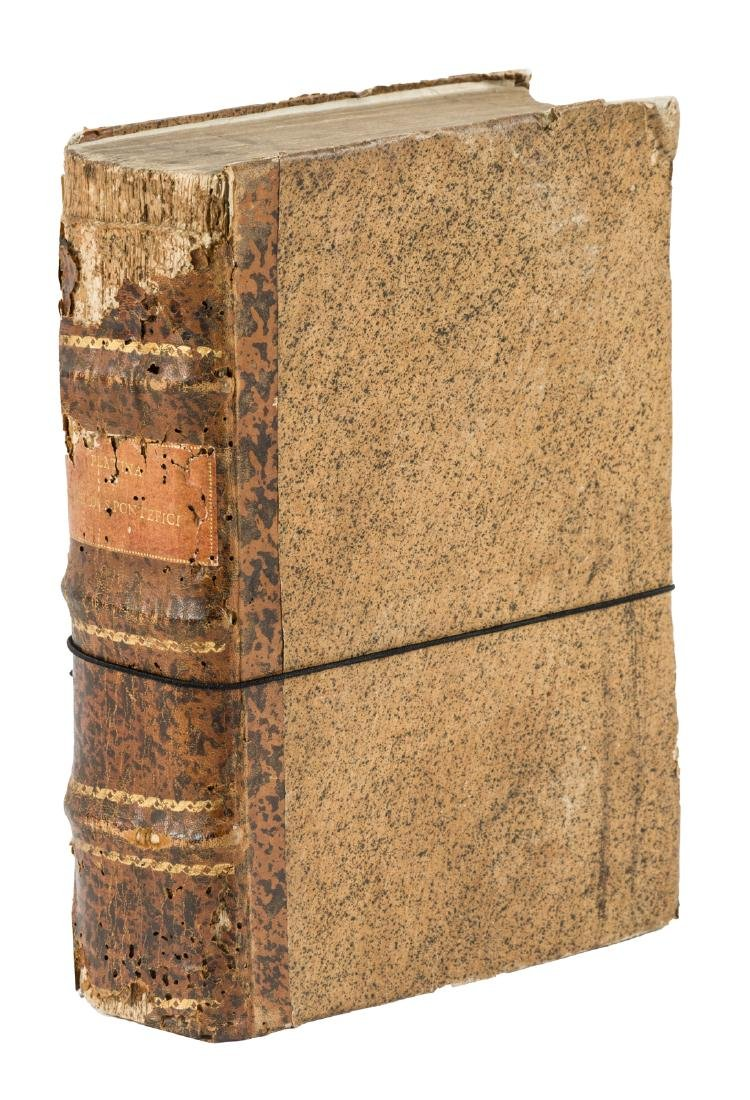 Lives of the Popes with Roman history, 1613