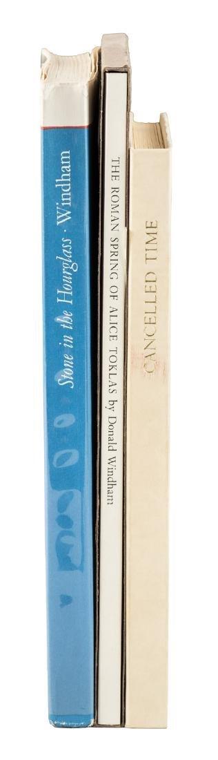 Three titles printed by Stamperia Valdonega