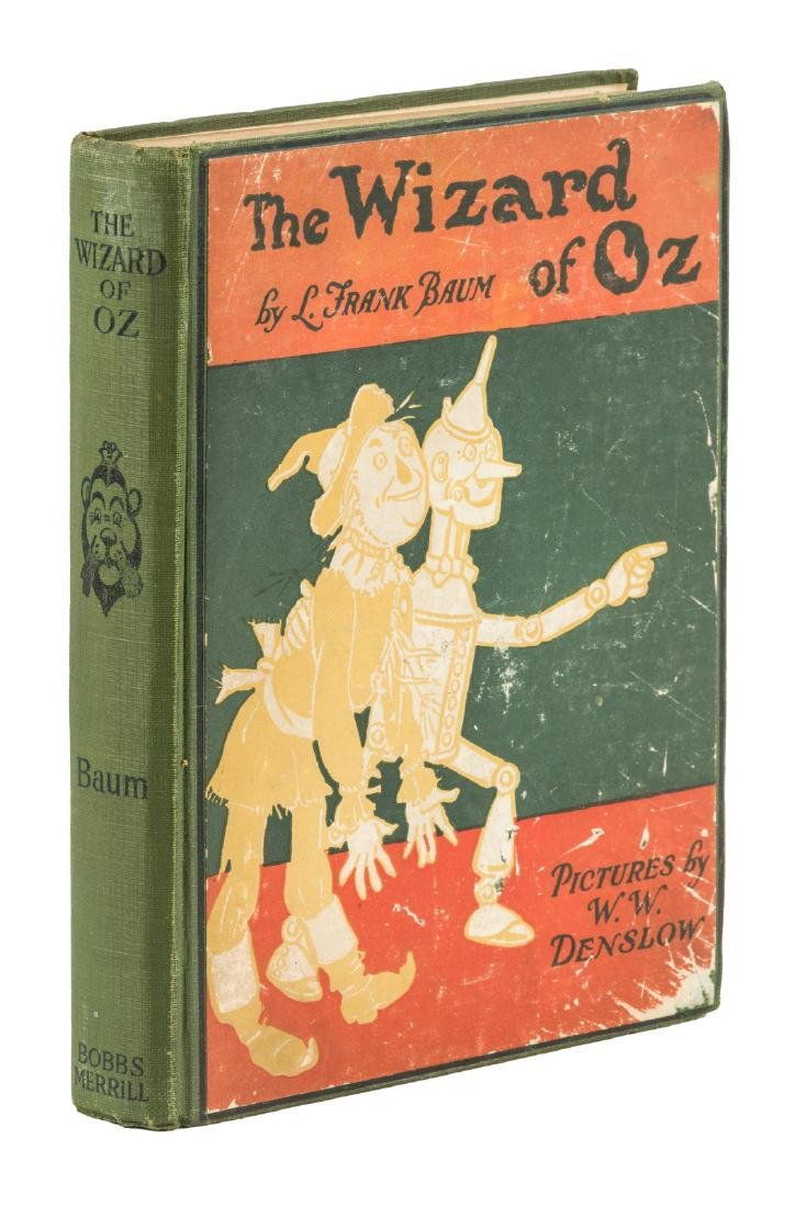 "New Wizard of Oz Fifth Edition in binding ""B""."