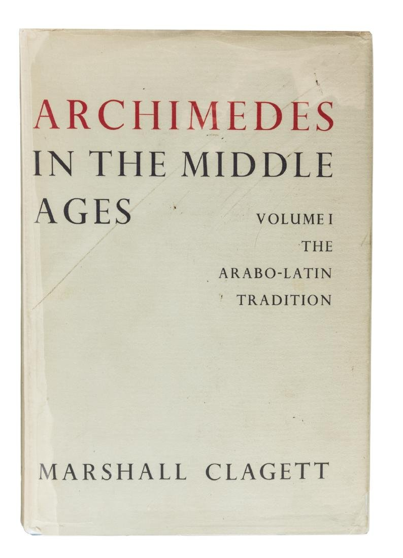 Marshall Clagett,  Archimedes in the Middle Ages