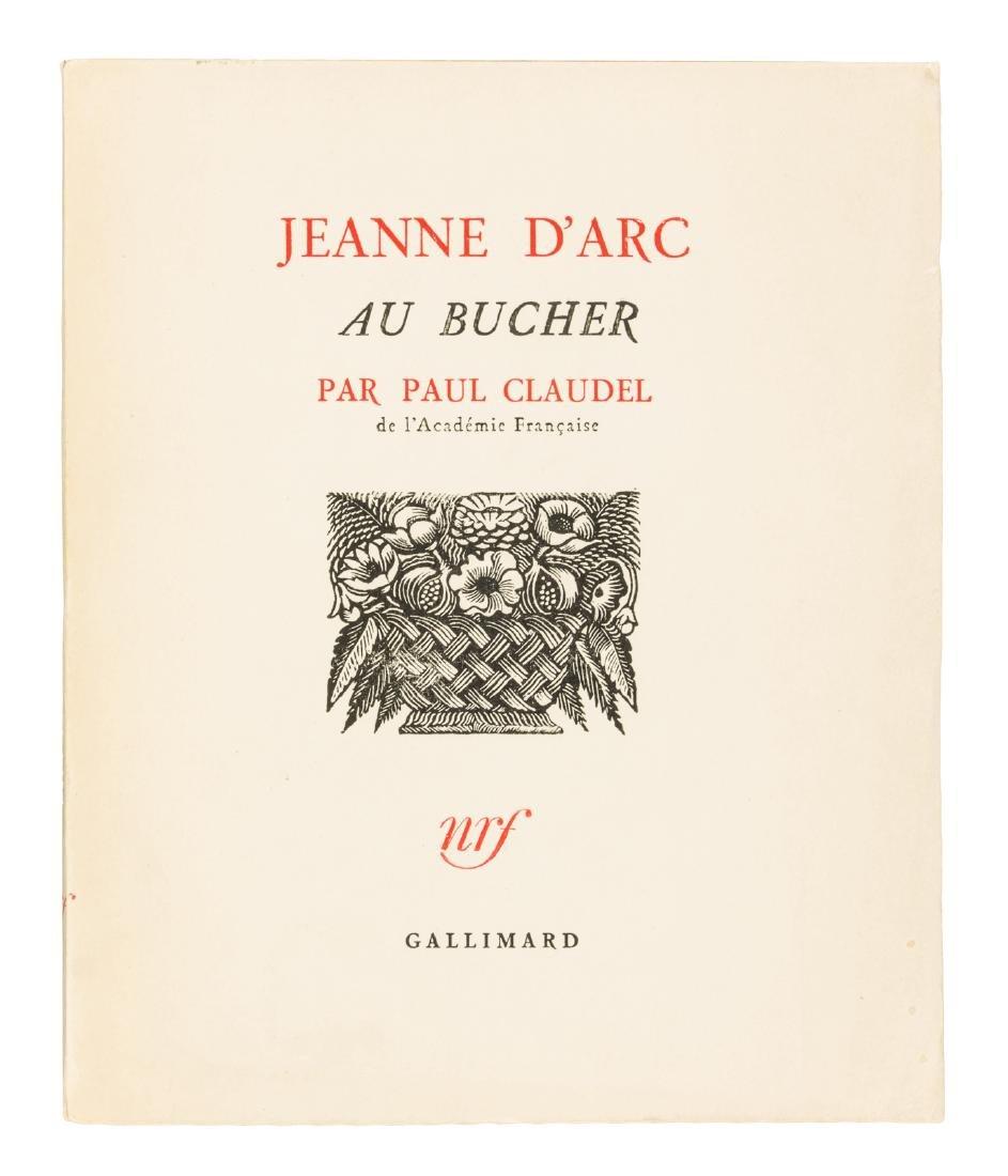 Paul Claudel's Jeanne d'Arc au Bucher