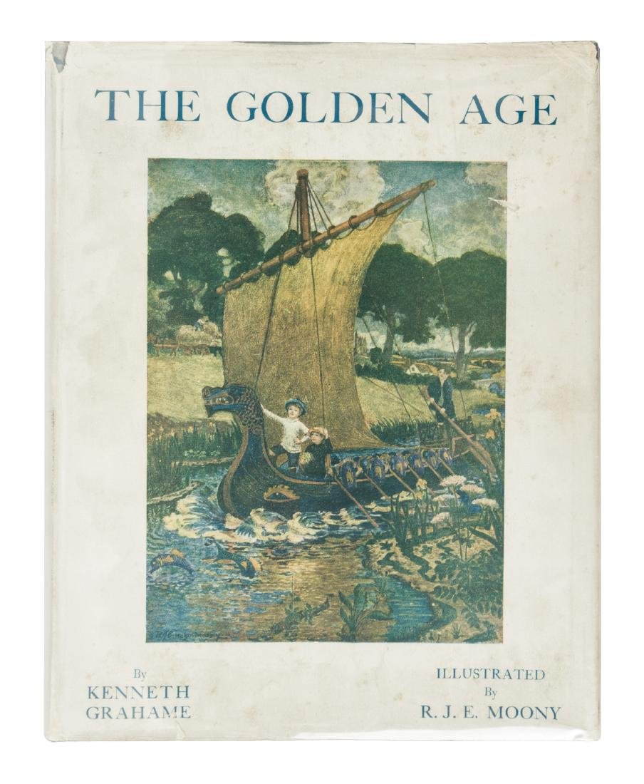 Kenneth Grahame's Golden Age illustrated by Moony