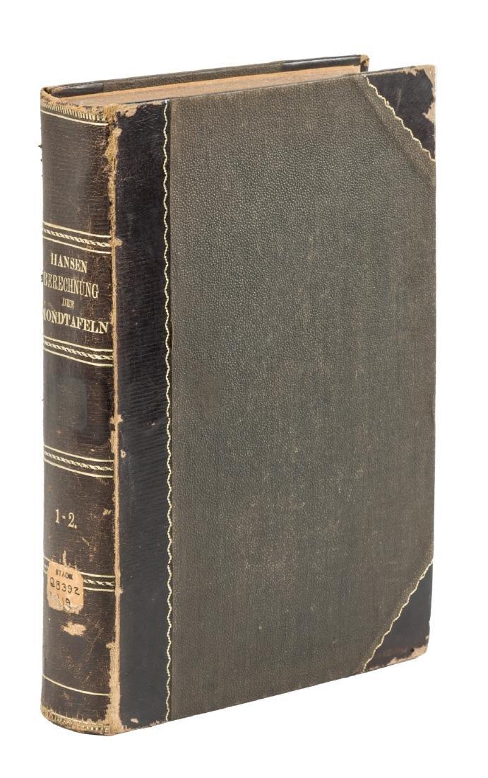 P.A. Hansen's tables of the moon, 1862-4