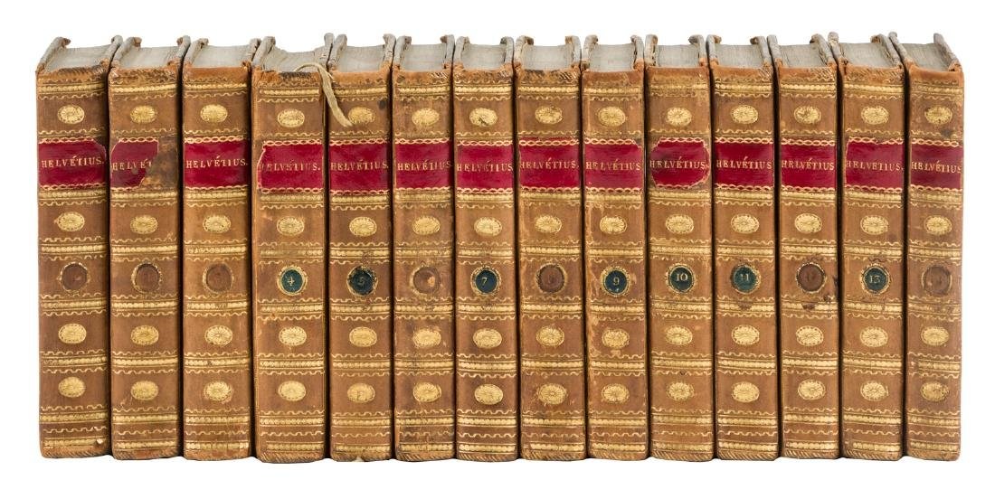 Complete works of Helvétius 14 volumes
