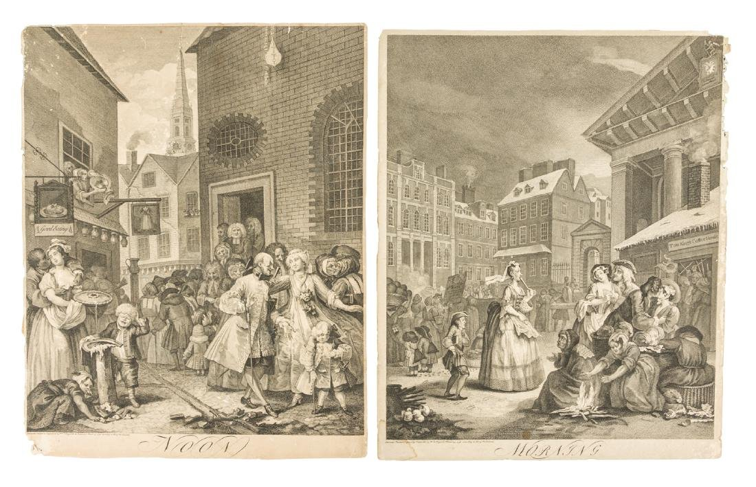 William Hogarth's Four Times of the Day