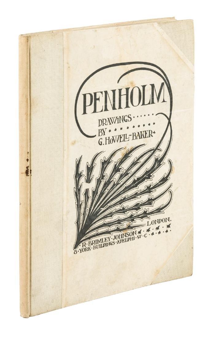 Penholm drawings by G. Howell-Baker