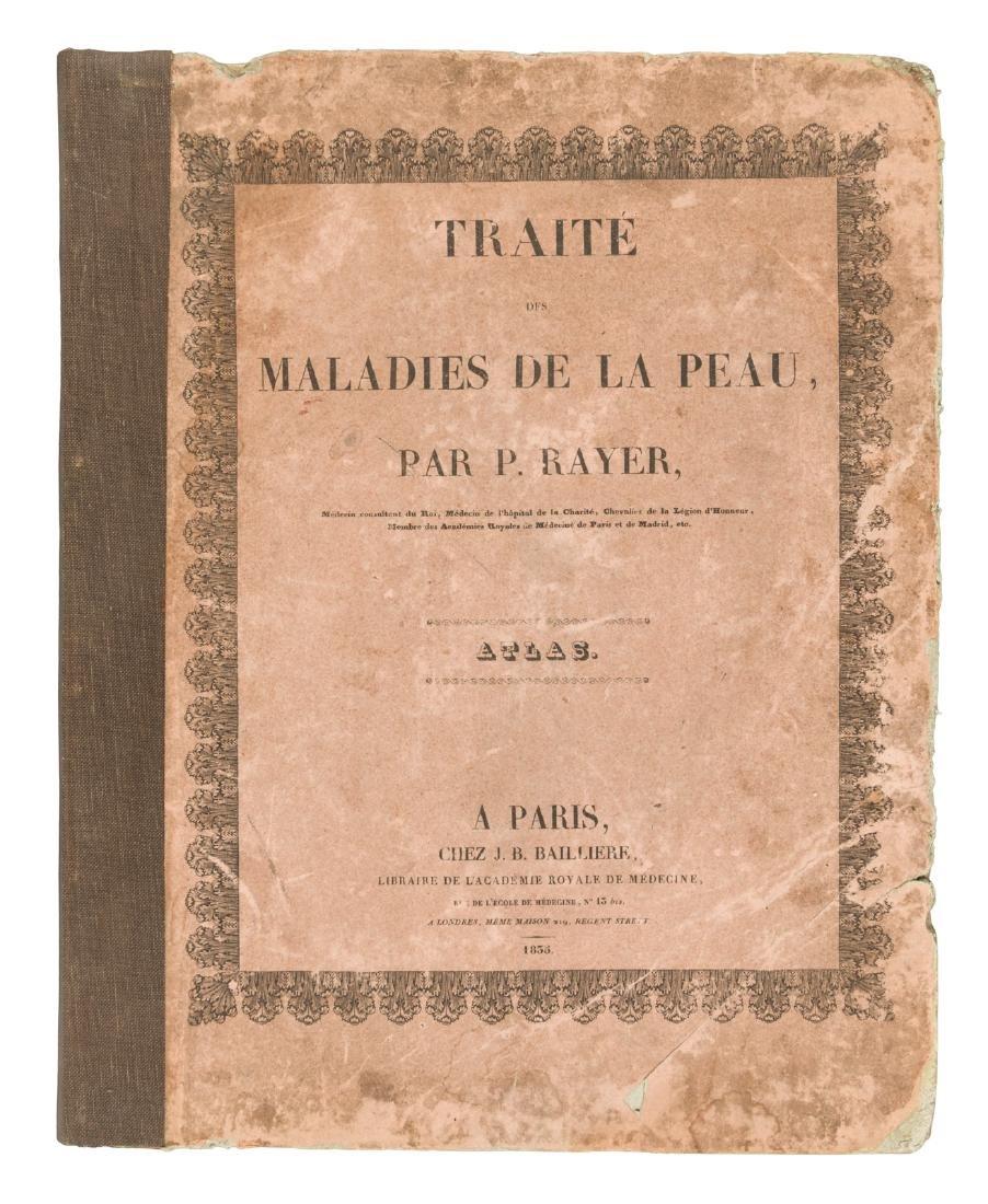 Traité des Maladaies de la Peau. Atlas.