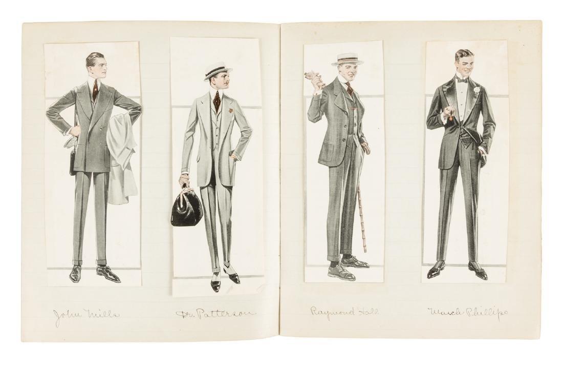 Homemade pictorial novel c.1900