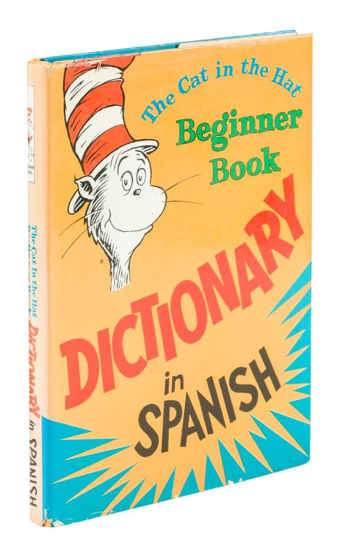 Cat in the Hat Dictionary in French