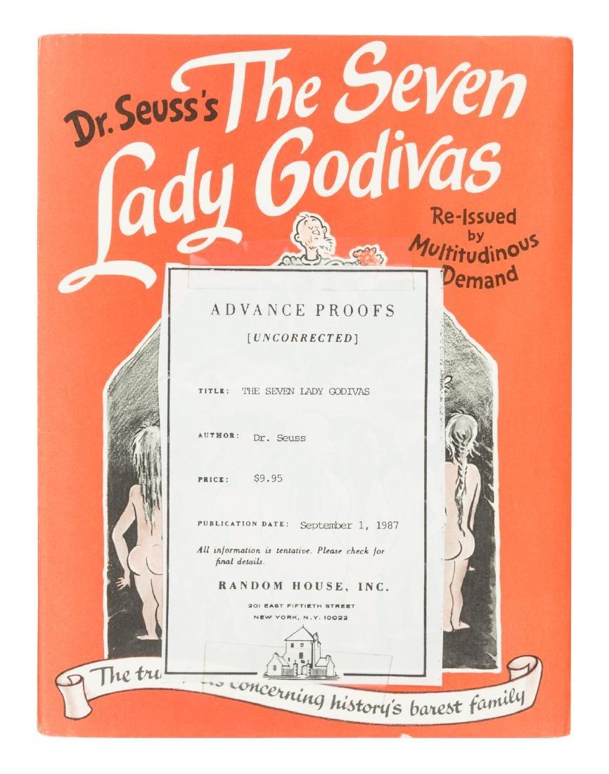 Dr. Seuss Seven Lady Godivas advance sheets