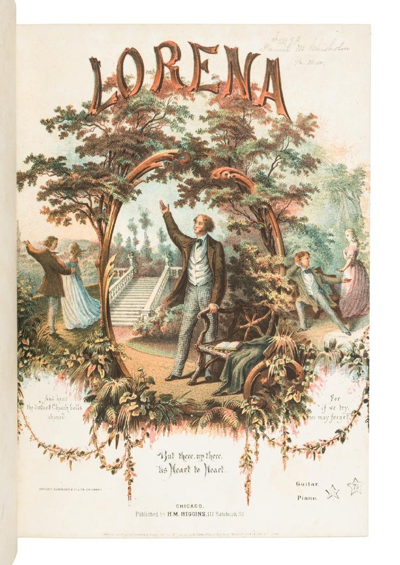 Bound volume of 19th century sheet music - 3