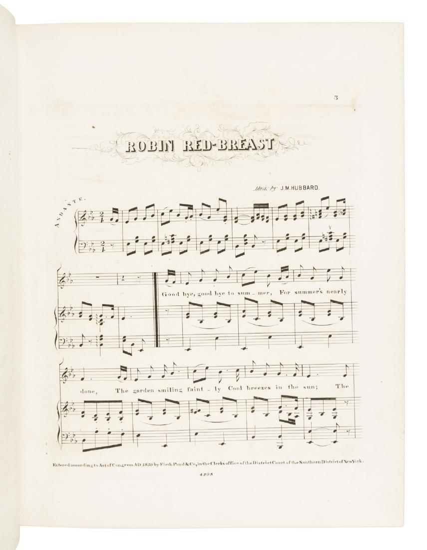 Bound volume of 19th century sheet music - 4