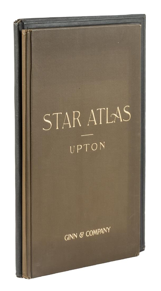Two star atlases from 1896