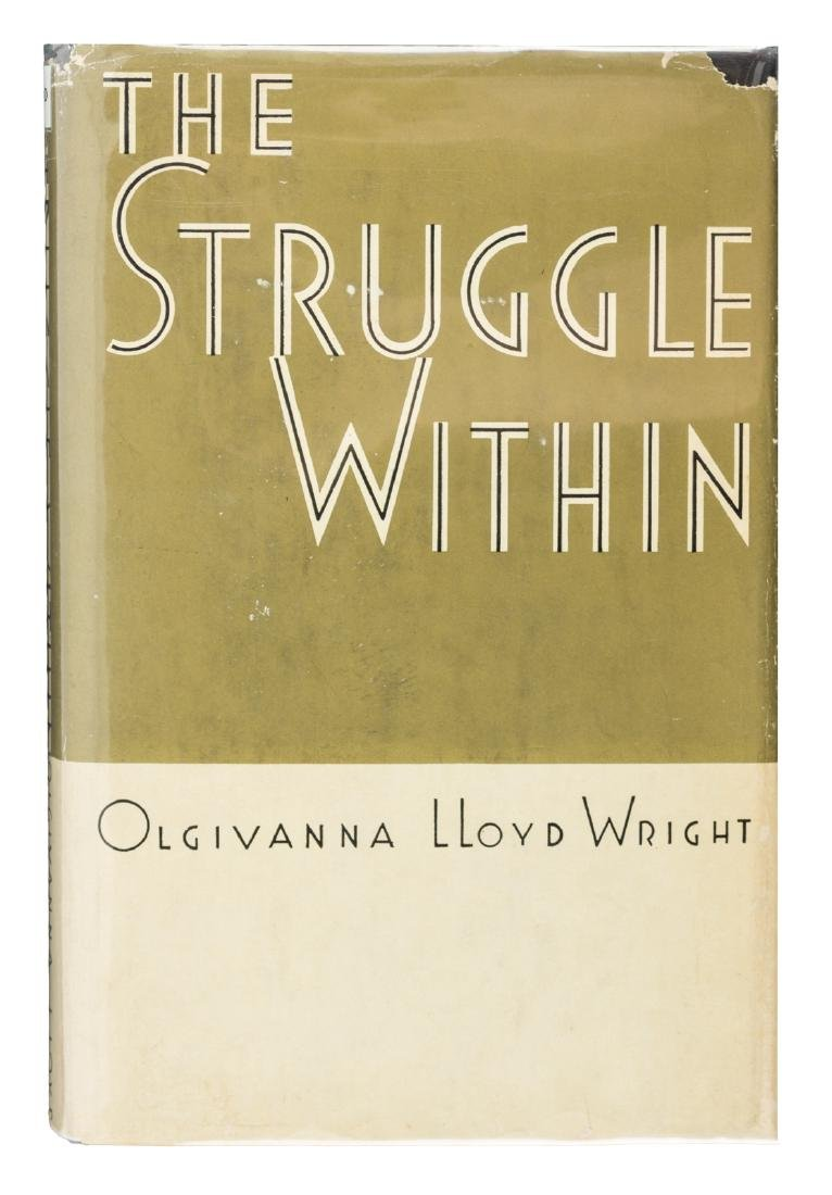 Olgivanna Lloyd Wright, inscribed