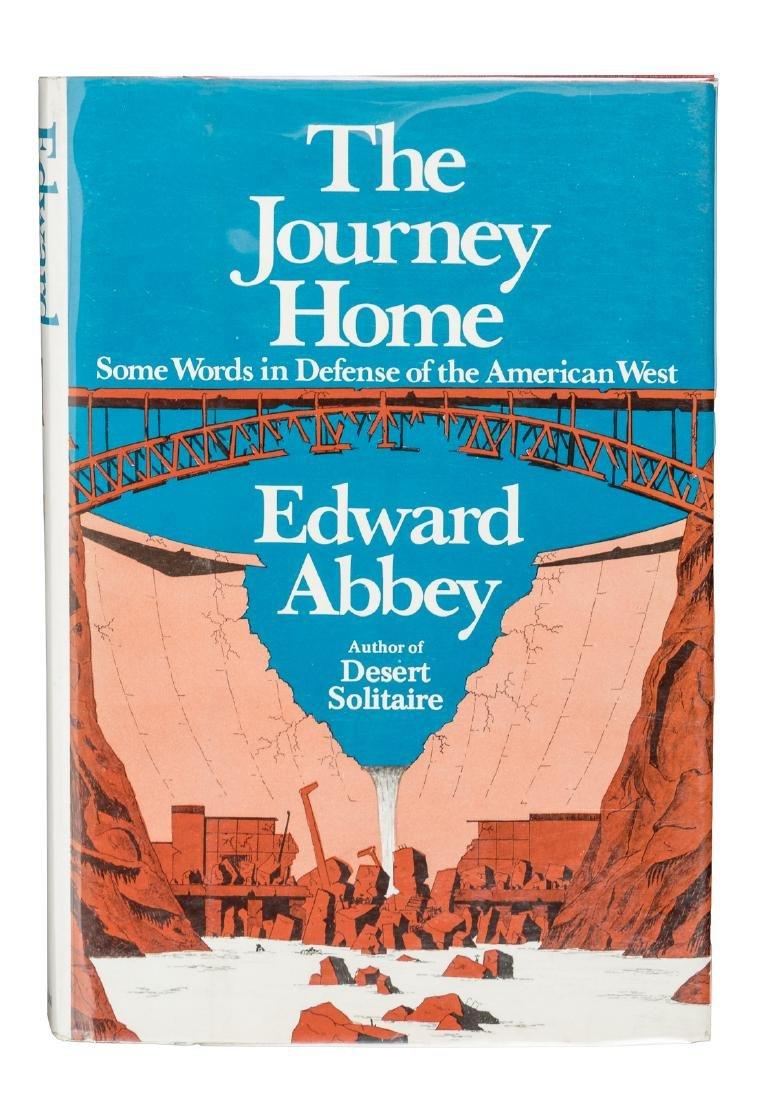 Edward Abbey's Journey Home, signed