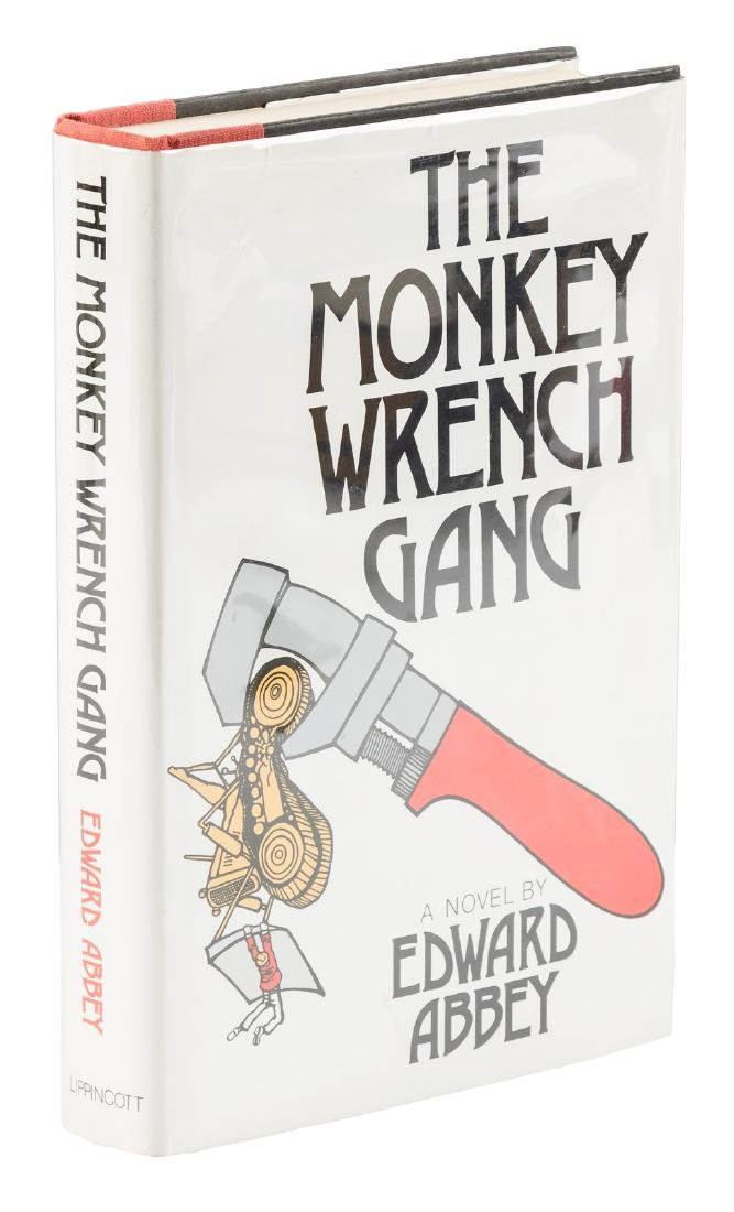 Edward Abbey's Monkey Wrench Gang signed