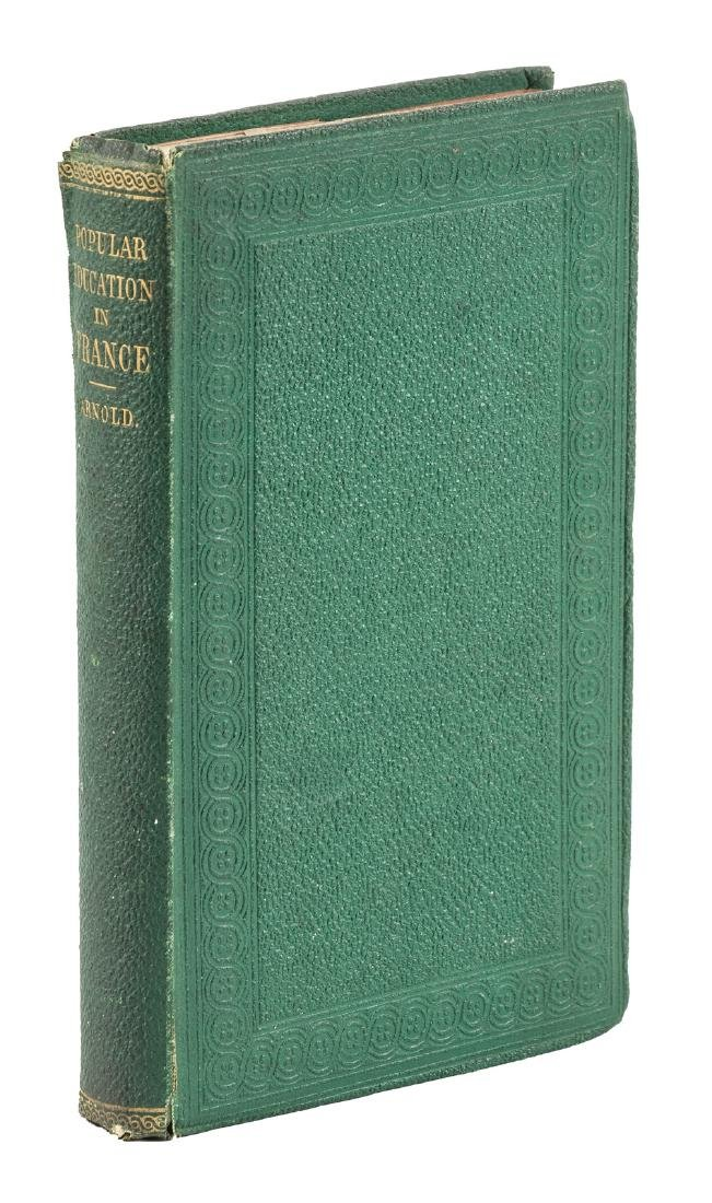 Matthew Arnold, Popular Education of France -