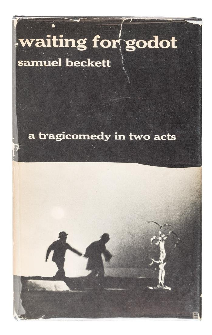 First Edition in English of Beckett's GODOT