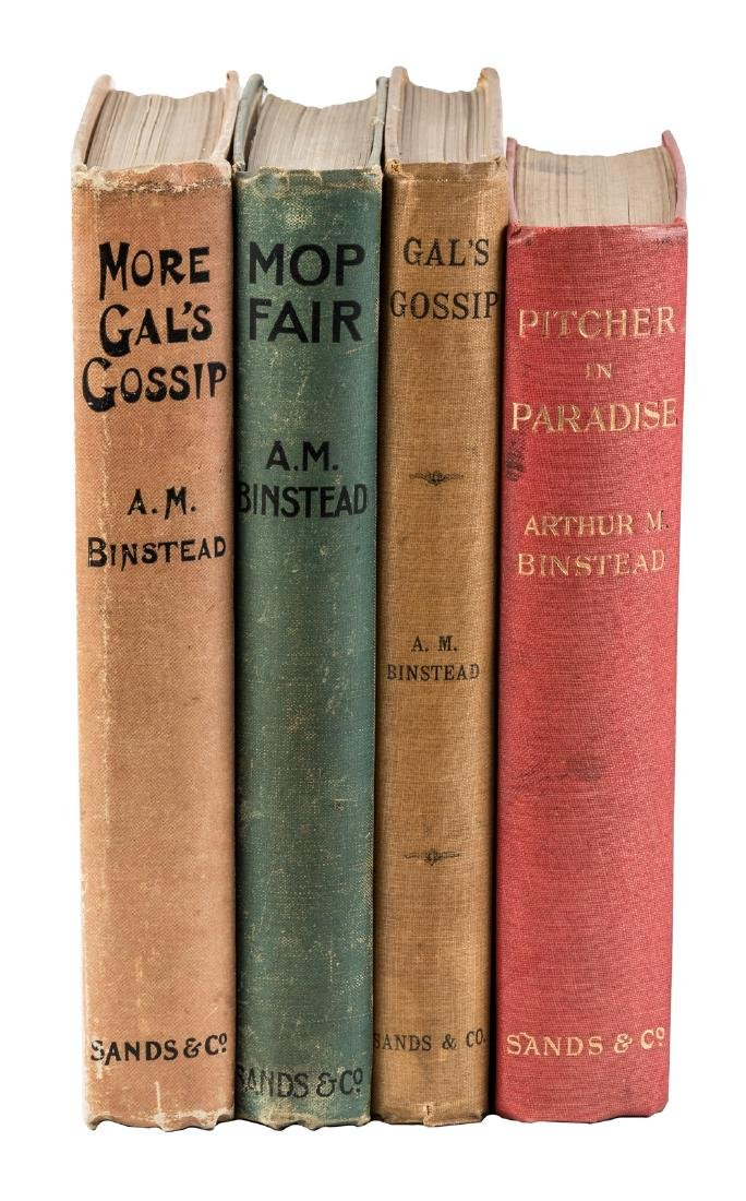 Four novels by A.M. Binstead