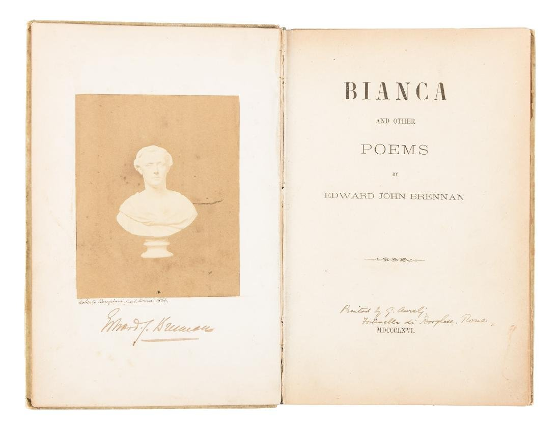 Bianca & Other Poems real photo frontispiece - 2