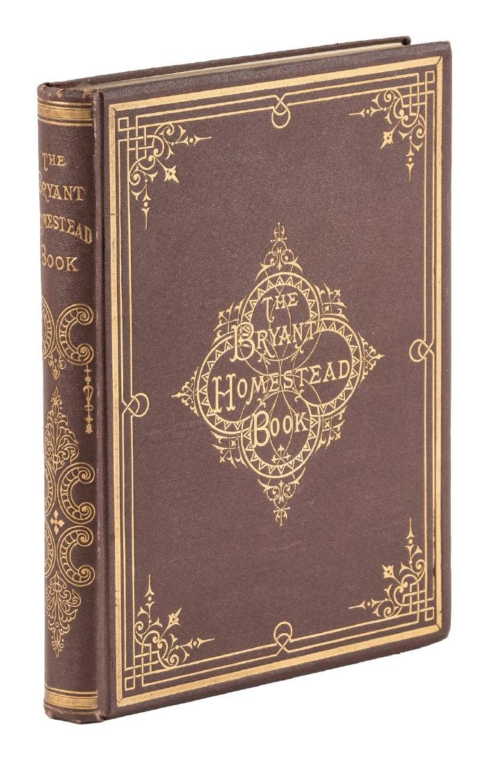 The Bryant Homestead-Book By the Idle Scholar 1870