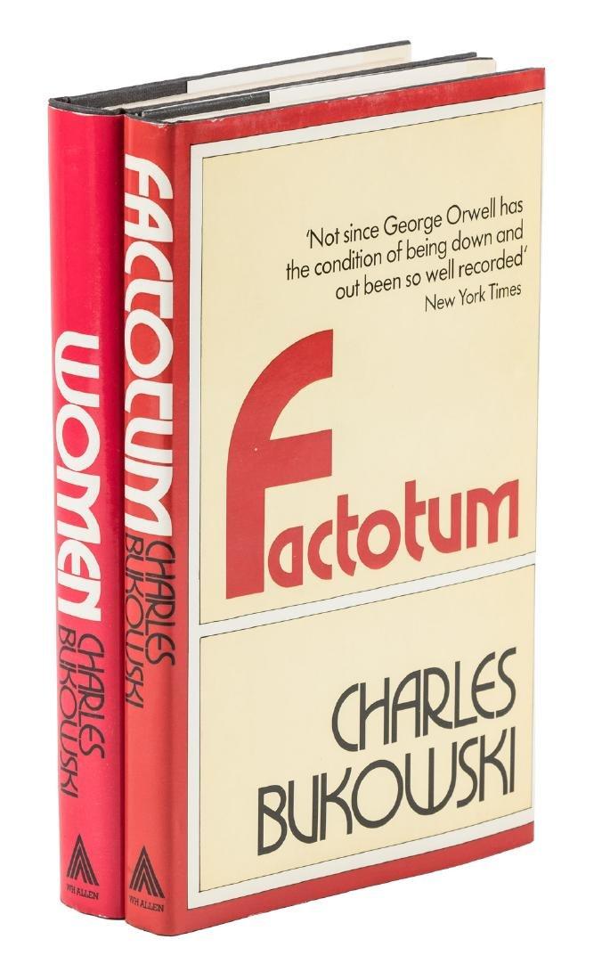 2 Bukowski First English editions