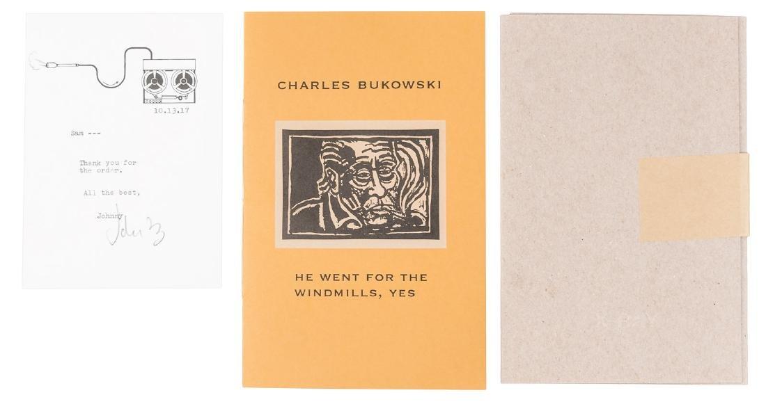 Bukowski, He Went for the Windmills 1/75