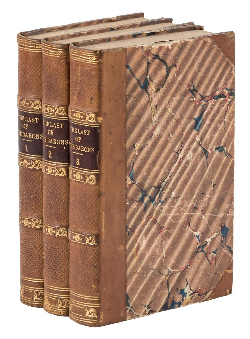 The Last of the Barons 1st ed. 1843