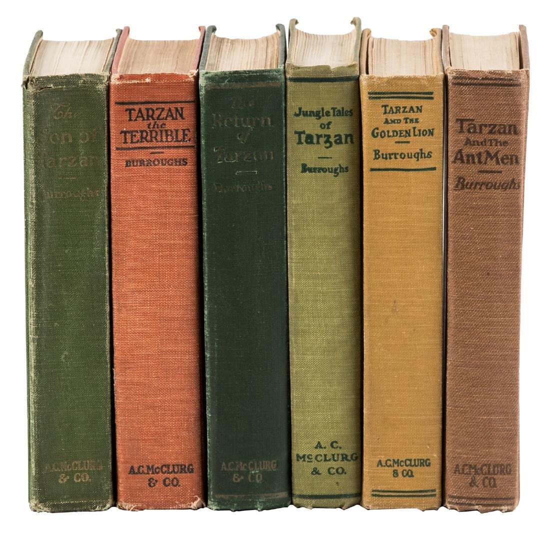 Six classic Tarzan titles
