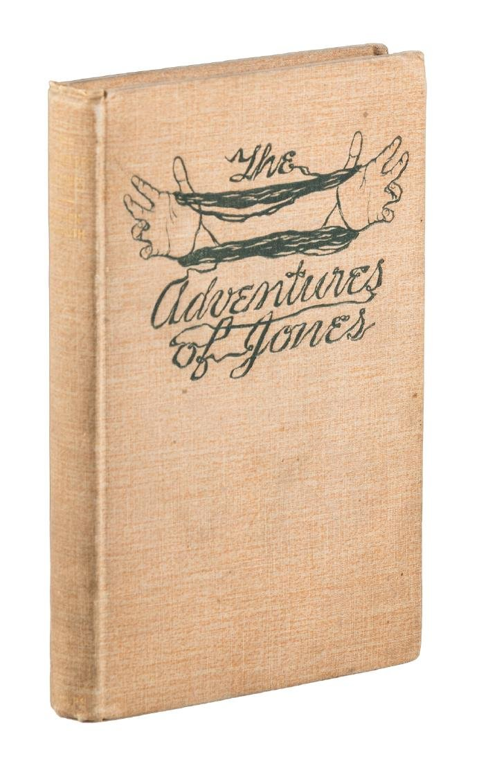 Hayden Carruth, Adventures of Jones - inscribed