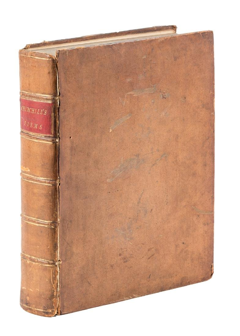 Poems of C. Churchill, 1763-5