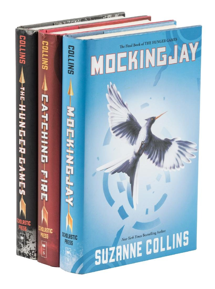 The Hunger Games trilogy 1st Editions