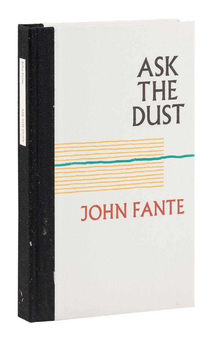 John Fante Ask The Dust Signed limited edition