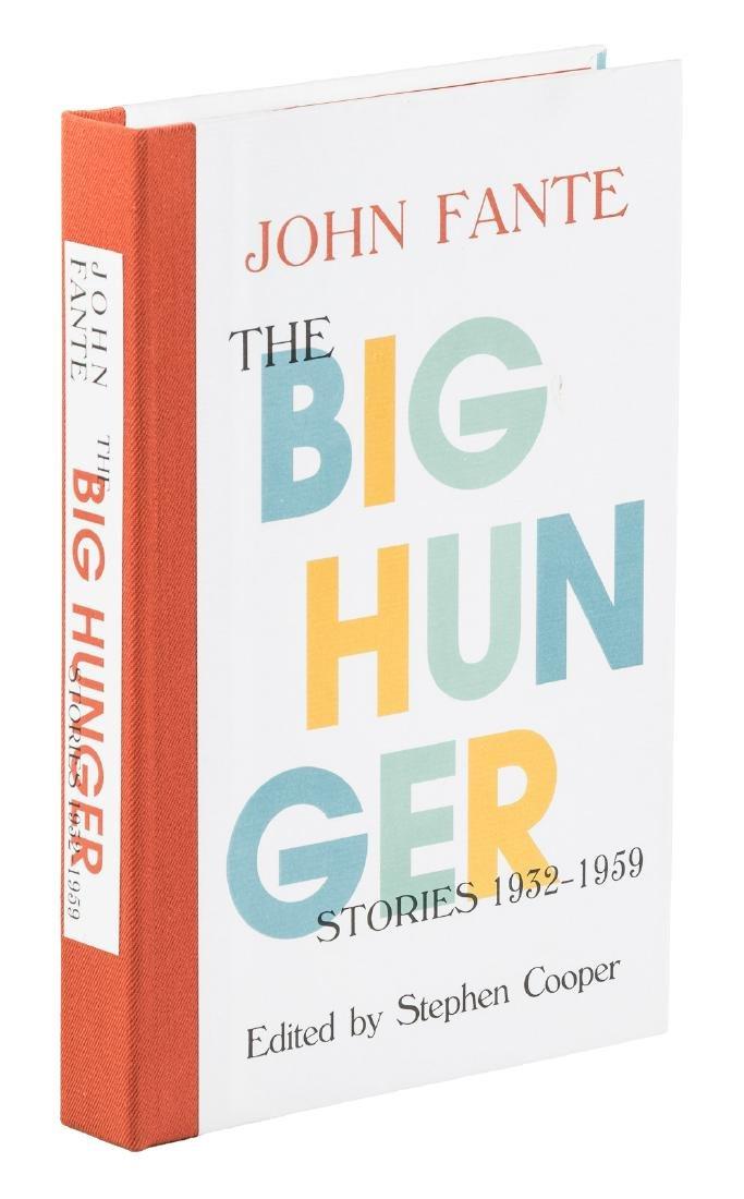John Fante The Big Hunger 1/176 copies